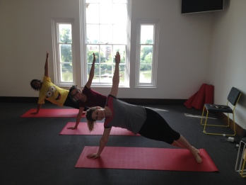 graze - Pilates class for staff
