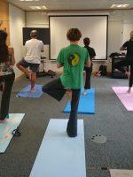 TfL - Yoga class for staff